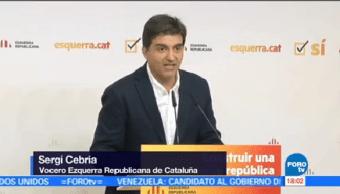 Víspera Declaración Independencia Cataluña Dirigentes Políticos