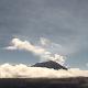 Volcán Popocatépetl visto desde la estación de monitoreo Altzomoni