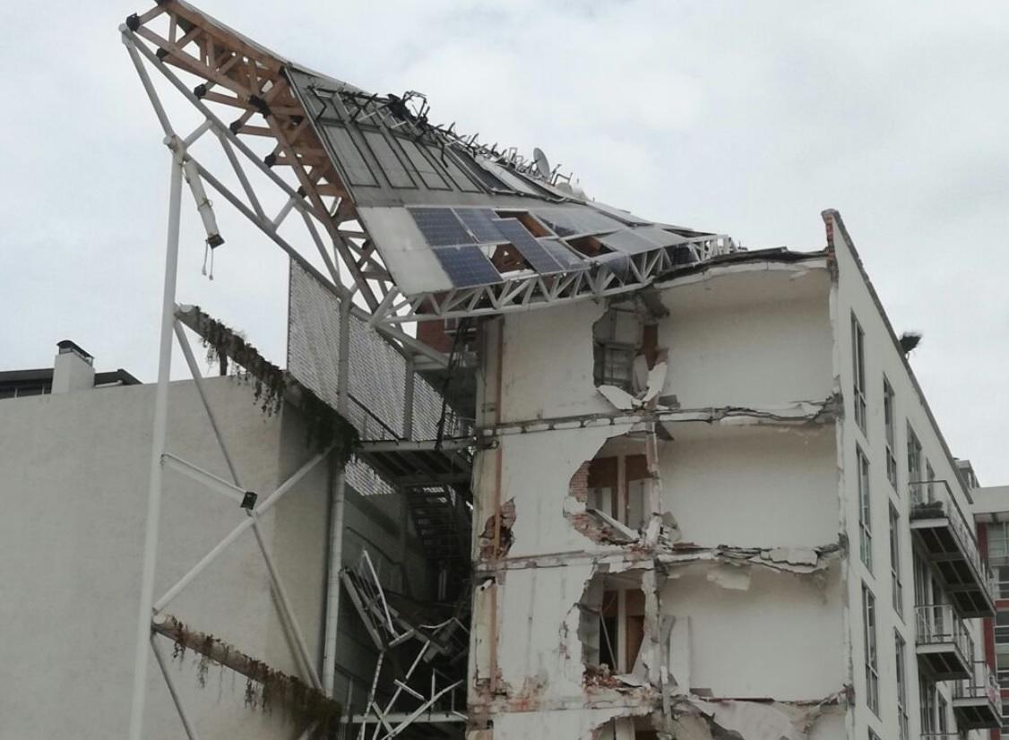 A proceso, corresponsable de obra de edificio en Zapata 56