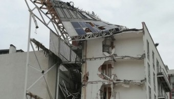 Edificio derrumbado por el sismo del 19-S, en la Ciudad de México. (Twitter @Wilor15/Archivo)