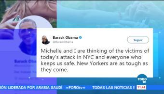 Expresidentes de EU condenan ataque en Nueva York