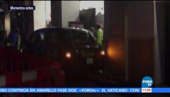 Taxi atropella a varias personas en Londres