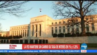 La Fed anuncia su decisión de política monetaria
