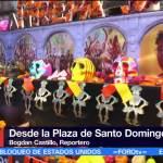 Mega ofrenda de la UNAM en Plaza Santo Domingo