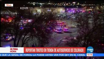 Reportan múltiples heridos en tiroteo en Colorado