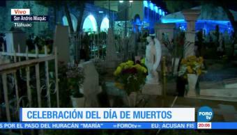 Mixquic extraña a los visitantes en día de muertos