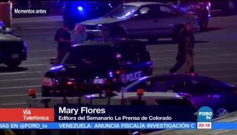 Confirman dos muertos y un herido en tiroteo en Colorado