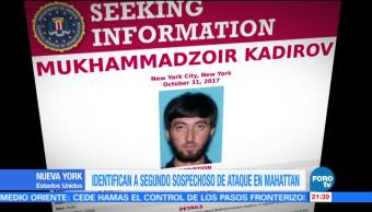Identifican a segundo sospechoso de ataque en Manhattan