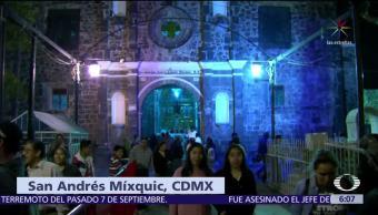 Baja afluencia de visitantes en San Andrés Mixquic, CDMX