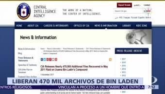 CIA libera documentos sobre el refugio de Bin Laden en Pakistán