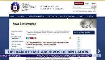 CIA libera documentos sobre el refugio de Bin Laden en Pakistán