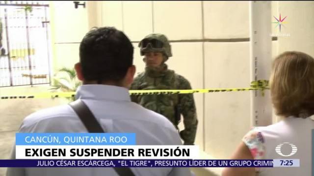 Se amparan usuarios de cajas de seguridad confiscadas por SEIDO en Cancún