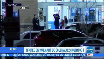 Agresor de Colorado sigue prófugo