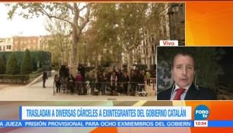 Ya están en prisión las exconsejeras de Puigdemont
