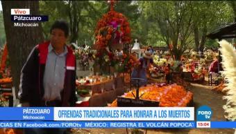 Pátzcuaro, sitio emblemático de Día de Muertos