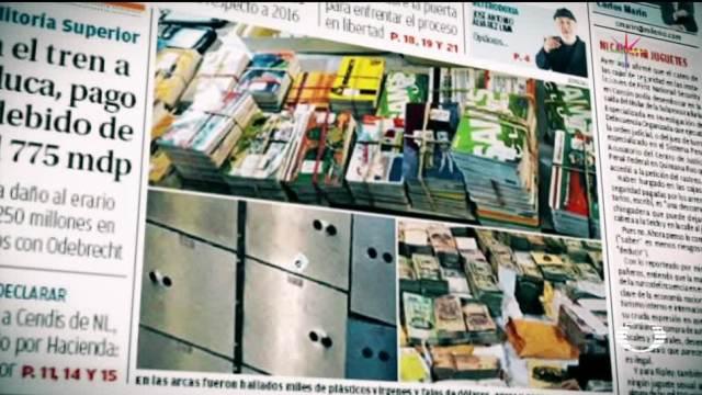 Publican imágenes de cajas de seguridad abiertas en Cancún