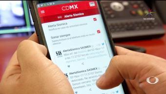 Capitalinos podrán llevar la alerta sísmica en su celular