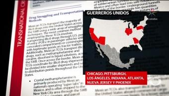DEA: Guerreros Unidos una amenaza