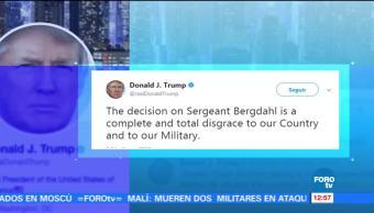 Absuelven a sargento Bowe Bergdahl que desertó en Afganistán