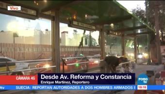 Construcción de la L7 del Metrobús reporta avance de casi 70%