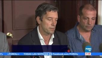 Sobrevivientes argentinos ofrecen emotivo mensaje en Nueva York