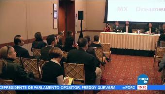 Barra de Abogados y Coparmex anuncian apoyo a dreamers en EU