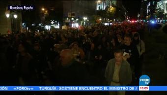 Se mantienen manifestaciones tras la entrega de Puigdemont