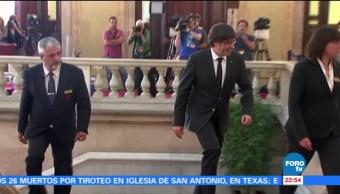 Autoridades belgas dejan en libertad a Puigdemont y exconsejeros catalanes