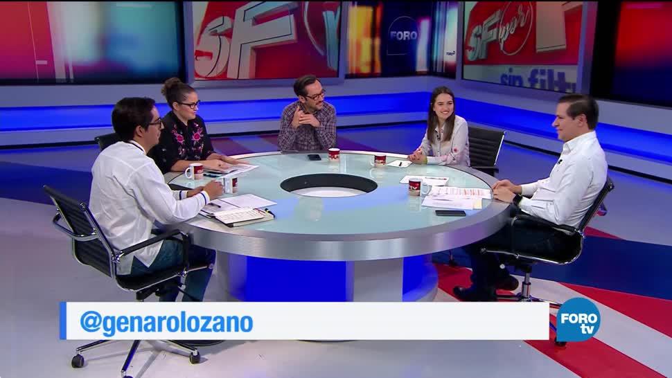 Sin Filtro con Genaro Lozano: Programa del 5 de noviembre del 2017