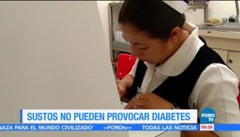 Extra, Extra: Los sustos no pueden provocar diabetes