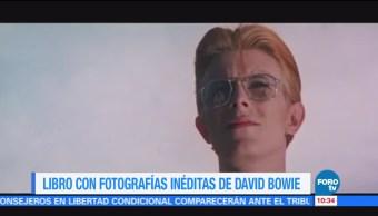 #LoEspectaculardeME: Libro con fotografías inéditas de David Bowie
