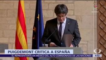 Puigdemont y 4 de sus consejeros comparecerán ante un tribunal en Bruselas