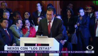 Humberto y Rubén Moreira, y Fidel Herrera, recibieron sobornos de 'Los Zetas'