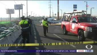 Cierran carriles centrales de Blvd. Aeropuerto de Toluca por aterrizaje de emergencia