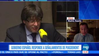 Puigdemont internacionaliza conflicto de Cataluña: Alberto Peláez