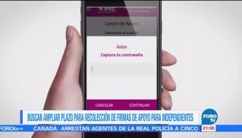 Presentan denuncia por irregularidades en la app del INE