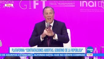 José Antonio Meade habla de transparencia fiscal