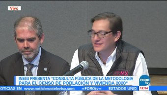 Presentan consulta de la metodología para el censo 2020 en el INEGI