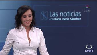 La Noticias, con Karla Iberia: Programa del 8 de noviembre de 2017