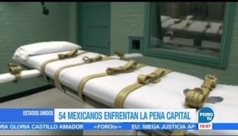 Mexicanos ejecutados en Estados Unidos pena de muerte