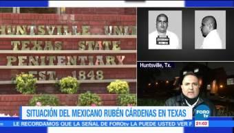 Mexicano espera ejecución en cárcel de Texas