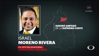 Exdelegado en Venustiano Carranza quiere reunirse con ministros
