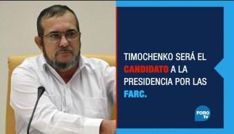 Timochenko quiere ser presidente con el partido de las FARC