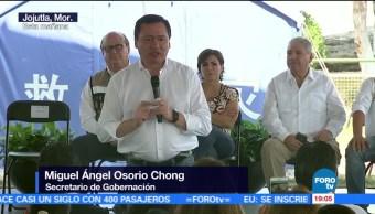 Gobierno anuncia reconstrucción de Jojutla en Morelos