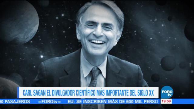 Efeméride de En Una Hora: Carl Sagan