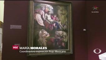 Abre 'Rojo Mexicano' en el Palacio de Bellas Artes