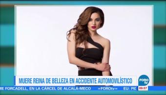 Muere Reina de Belleza en accidente automovilístico
