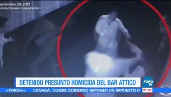 Detienen al presunto homicida del Bar Attico