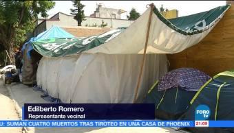 Vecinos de Concepción Béistegui 1503 buscan apoyos