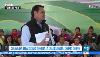 Osorio Chong inaugura la segunda etapa de 'Pachuca se pinta'